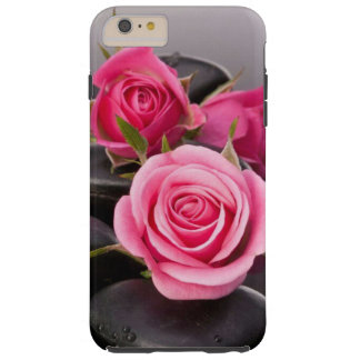 Pink roses iphone case tough iPhone 6 plus case