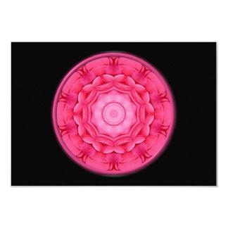 Pink Roses Kaleidoscope Card