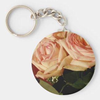Pink Roses Key Chains