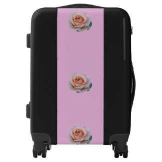 Pink Roses Luggage
