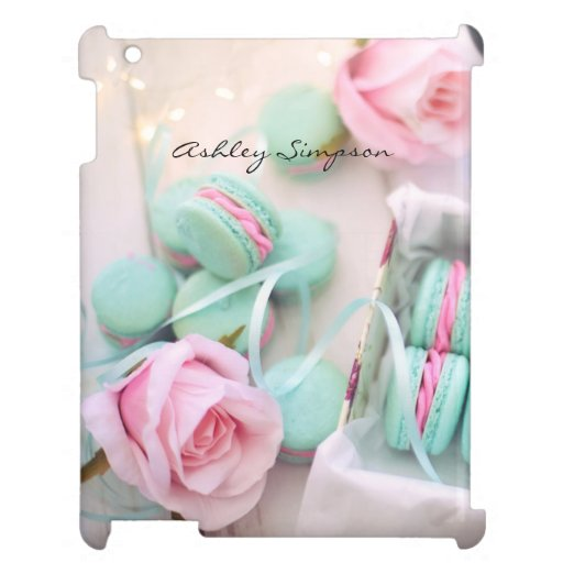 Pink Roses Macarons Case for the iPad