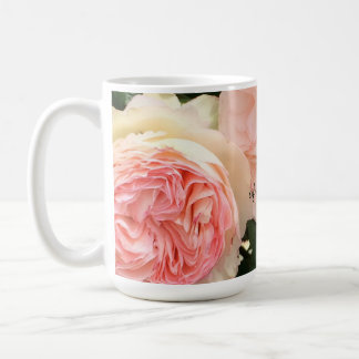 Pink Roses Mother of the Bride Coffee Mug
