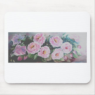 Pink roses mousepads