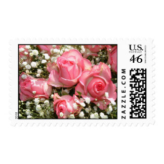 Pink Roses New Low price Stamps