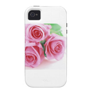 Pink Roses of Love iPhone 4 Case