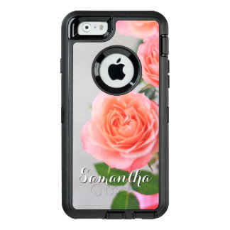 Pink Roses Otterbox phone case