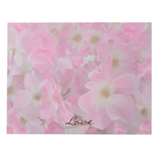 Pink Roses Painting Notepad