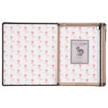 Pink Roses Pattern. iPad Folio Cases