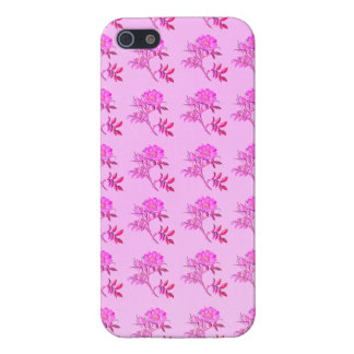 Pink Roses pattern iPhone SE/5/5s Case