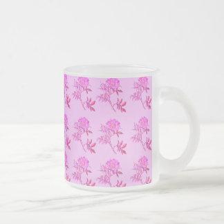Pink Roses pattern Mug
