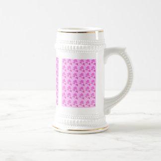 Pink Roses pattern Coffee Mug