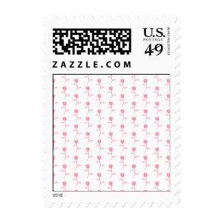 Pink Roses Pattern. Stamps