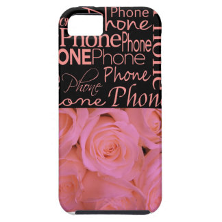 Pink roses PHONE case iPhone 5 Cover