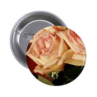 Pink Roses Pin