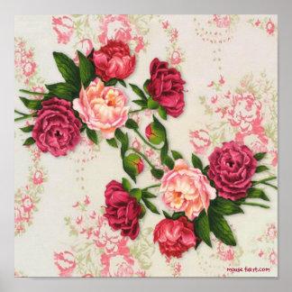 Pink Roses Print