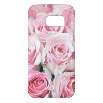 Pink Roses Samsung Galaxy S7 Case