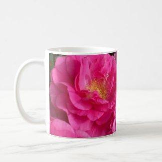 Pink Roses Spring Garden Coffee Mug