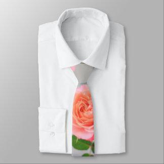 Pink Roses Tie
