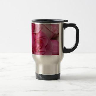 Pink Roses - Travel Mug