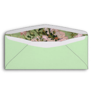 Pink Roses Van Gogh Fine Art Envelopes