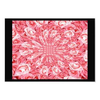 "Pink Roses ""Warp"" #5 Card"