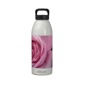 Pink Roses Drinking Bottle