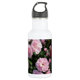 Pink Roses Water Bottle