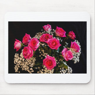 Pink Roses With All My Love Mouse Pad