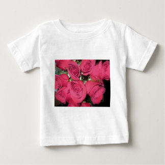 Pink Roses with dry brush II.jpg Baby T-Shirt