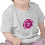 Pink Rosette T Shirt