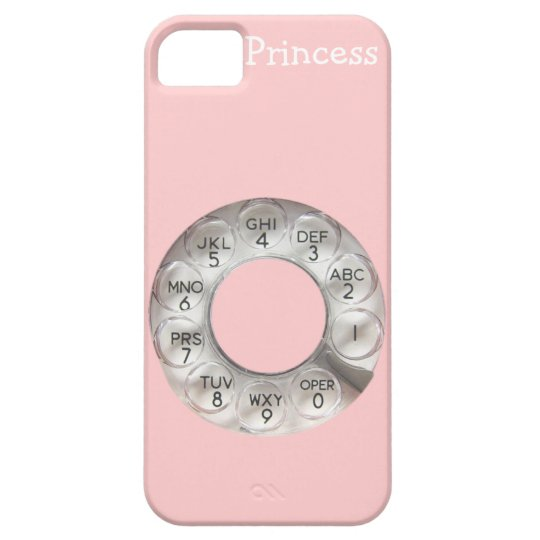 Pink Rotary Phone iPhone 5 iPhone SE/5/5s Case