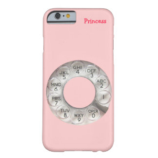 Pink Rotary Phone iPhone 6/6S case