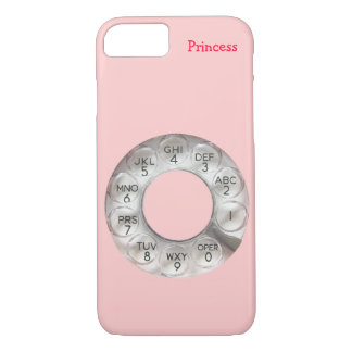 Pink Rotary Phone iPhone 7 Case