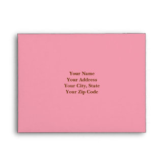 Pink RSVP Envelope
