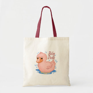 Pink Rubber Ducky Baby Girl Bag