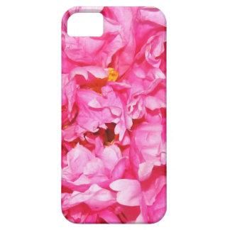 Pink Ruffled Peony Petals iPhone 5/5s Case iPhone 5/5S Case