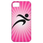 Pink Running iPhone 5 Covers