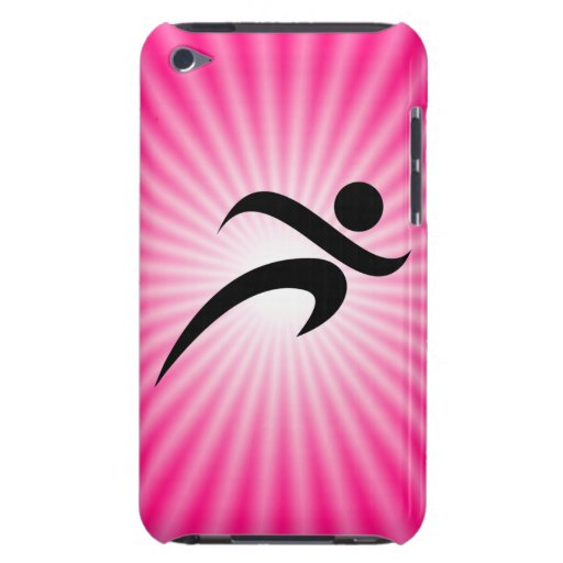 Pink Running iPod Touch Case