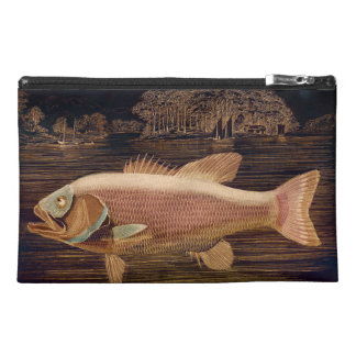 Pink Salmon Travel Accessory Bags