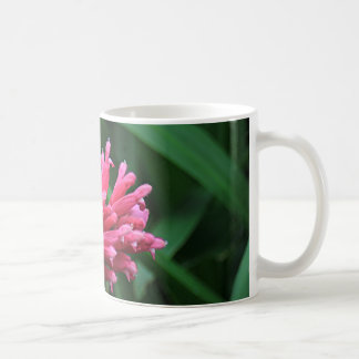 Pink salvia flower coffee mug