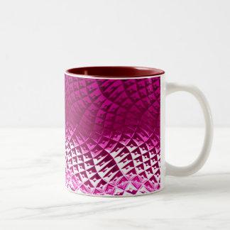 Pink samples Two-Tone coffee mug