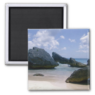 Pink Sand 2 Inch Square Magnet