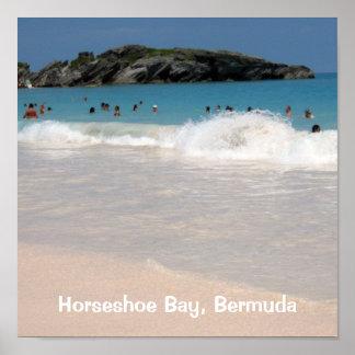 Pink Sand Beach #1, Horseshoe Bay, Bermuda Print