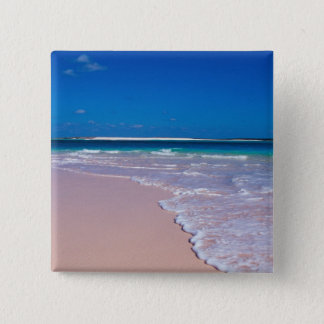 Pink sand beach at Conch Bay, Cat Island, Button