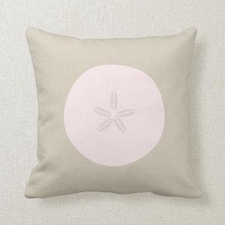 Pink Sand Dollar Pillow