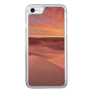 Pink sand dunes, Death Valley, CA Carved iPhone 7 Case