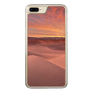 Pink sand dunes, Death Valley, CA Carved iPhone 7 Plus Case