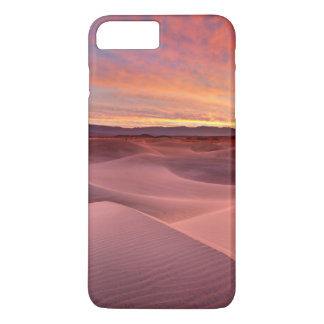 Pink sand dunes, Death Valley, CA iPhone 7 Plus Case