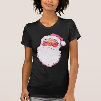 Pink Santa Claus T Shirt