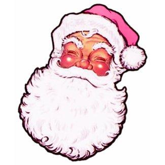 Pink Santa Claus shirt